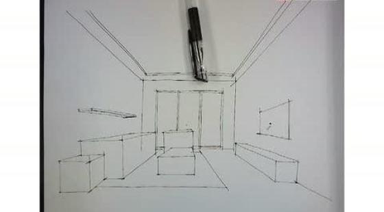 08一点透视空间家具深入-室内设计视频课程在线学习