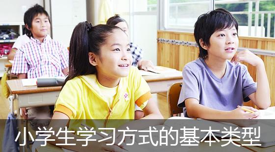 刘丽娜小学生学习方式的基本类型