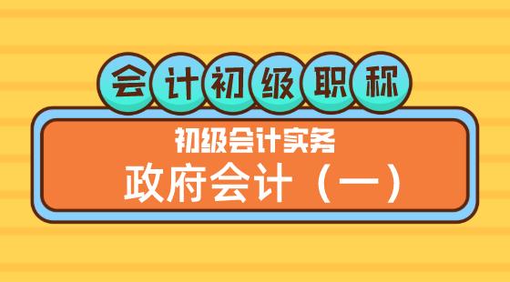 0425會計初級職稱《初級會計實務》王建元老師政府會計(一)晚上